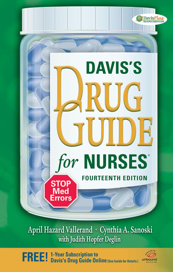 Davis's Drug Guide for Nurses, 14th Edition